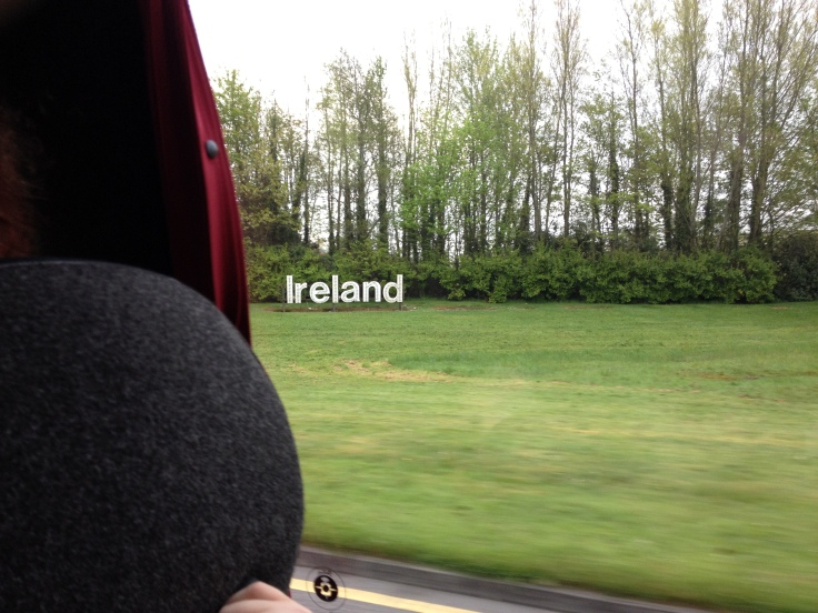 The first picture I took in Ireland. Not great, but I like it.