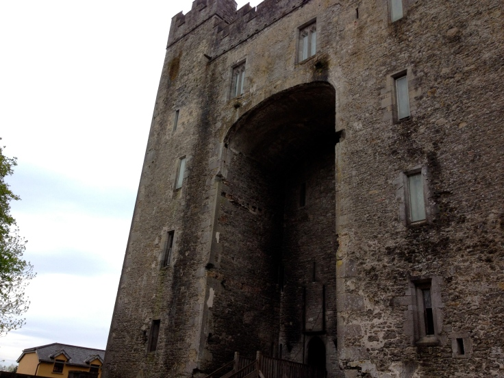 The entrance to Castle Bunratty