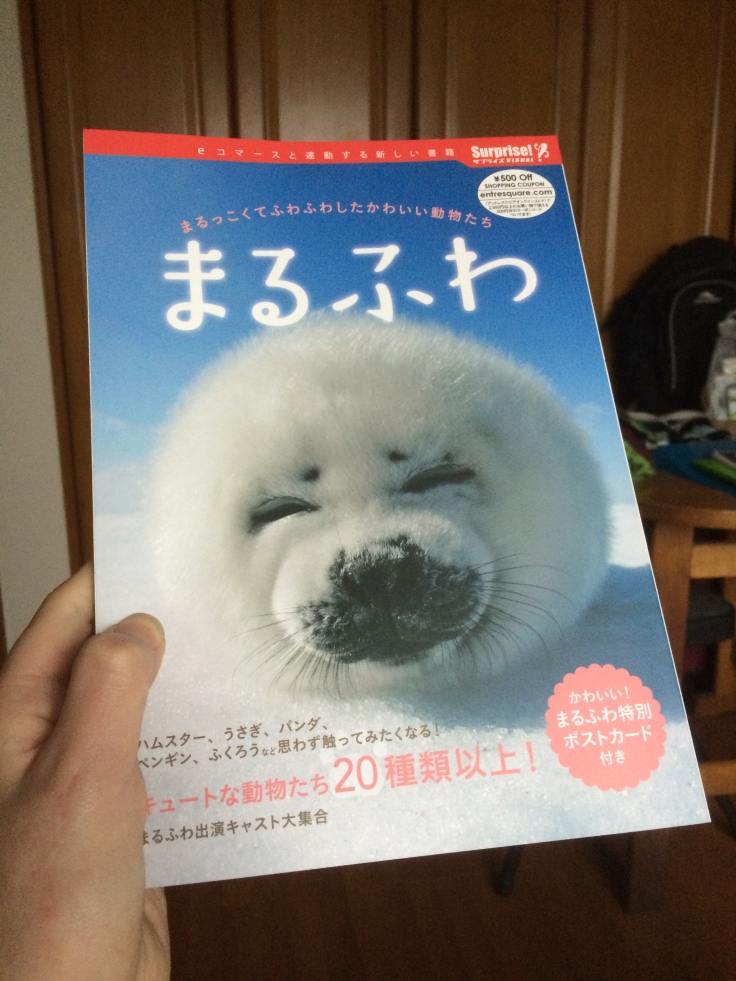 The magazine I bought to practice hiragana and katakana. It's all about animals.